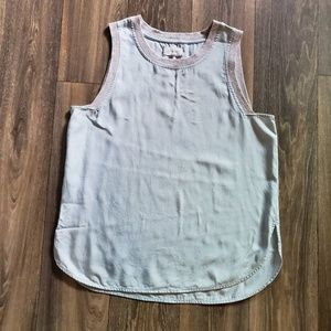 Like new! Lou & Grey Light Blue Chambray Tank